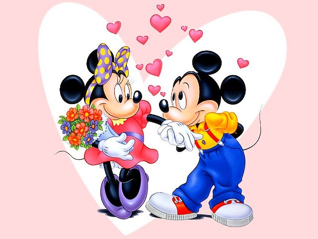 Image result for mickey minnie valentines day