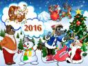 Happy New Year 2016 by Heroes of Soviet Animated Series