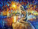 Copenhagen Mermaid by Leonid Afremov