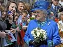 Diamond Jubilee Queen Elizabeth II among Well-wishers