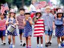 4th of July Children at a Parade